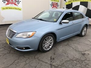 2012 Chrysler 200 Limited, Auto, Navigation, Leather, Sunroof