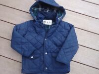 Autograph at Marks and Spencer, boys coat/jacket age 4-5 (navy)