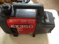 Honda ex350 portable petrol generator ideal motorhome charging etc wsm