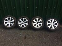 "Mercedes C Class w204 16"" Alloy wheels Ref.9"