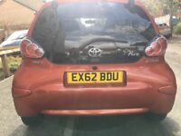 Toyota Aygo Fire 2012 low mileage excellent condition
