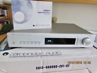 Digital Audio Tuner, R.C.A. Interconnection cables, Remote control, lnstruction manual, Original box