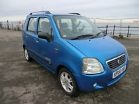Wagon R + S - Limited May 2004 - in stunning light blue , NEW MOT , FAULT FREE , With Delivery