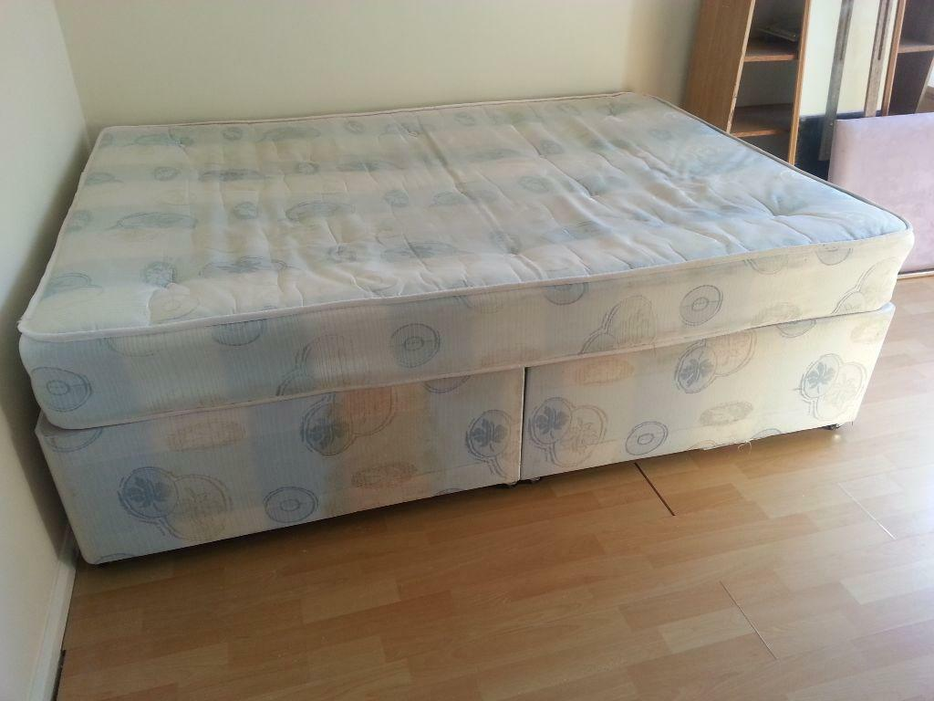 Double divan bed for sale in cambridge cambridgeshire for King size divan bed sale