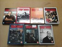 Sopranos Complete series 1-6 DVD's Amazon £35 US only £20
