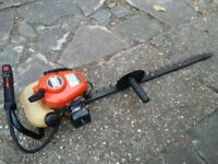 Echo petrol hedge trimmer