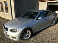 BMW 320i M Sport Coupe - Manual. Full black leather. Great driving, great looking clean car.