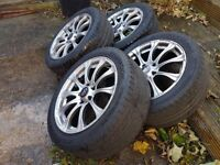"17"" Rota wheels and tyres. VW Audi Skoda Seat fitment"