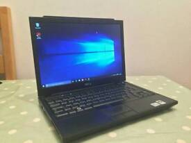 Dell Latitude Dual core, Windows 10 Laptop