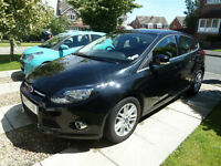 2013 Ford Focus 1.0 SCTi EcoBoost Titianium black Petrol - RECENT FULL SERVICE & TYRES