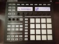 Maschine MK1 with software and usb cable.