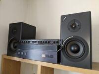 Alesis MK2 Monitor One Passive + free Yamaha Natural Sound Amplifier M4