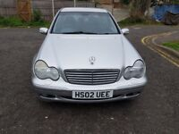 2002 Mercedes-Benz C Class 2.6 C240 Elegance 4dr Manual @07445775115