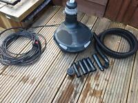 Pond pump hozelock easyclear 4500