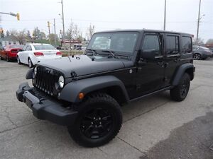2015 Jeep WRANGLER UNLIMITED WILLY EDITION / 4X4 / TOUCH SCREEN