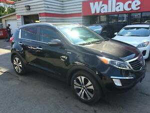 2013 Kia Sportage EX Luxury AWD Pano Sunroof $160 Bi-weekly