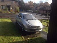 peugeot 206 covertible