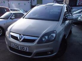 Vauxhall Zafira 1.9 CDTi Design [120] 5dr [Euro 4] (silver) 2006