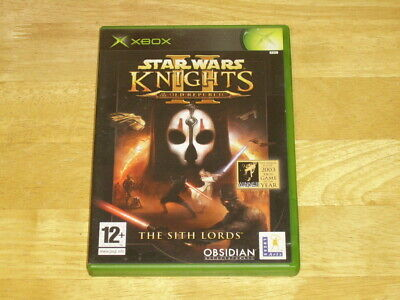 Star Wars Knights Of The Old Republic 2 The Sith Lords (Microsoft Xbox, 2005)