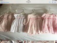 Baby girls clothes dresses and jackets aged newborn and 3 months in great condition