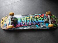 Voltage Graffiti Complete Skateboard