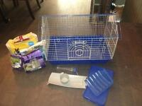 Lightly used cage for sale!