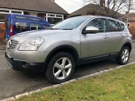 Nissan Qashqai, 12 months MOT, service history, 4 tyres 5/6mm, timing belt done, 2 owners, clean