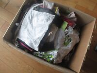 Huge box of kids and baby clothes grade B export