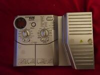 ZOOM 606 GUITAR EFFECTS PEDAL