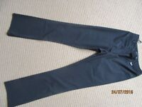 Stunning KAREN MILLEN Formal Trousers Black New Size UK 8