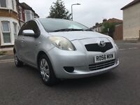 2007 TOYOTA YARIS 1.4 AUTOMATIC DIESEL YEAR TAX £30,1 owner, VVTI MMT TOP SPEC-FULL SERVICE HISTORY.