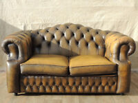 Genuine leather Chesterfield Sofa (Delivery)
