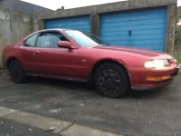Honda prelude 1 owner low mileage 31k cheap car moted rare classic barn find