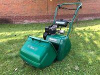 Qualcast Classic 35 Petrol Lawnmower Lawn Mower Bosch QX Cassette