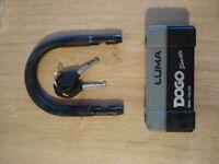 Luma 1.8m Toughened Motorbike Motorcycle Chain and U D Lock