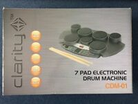 Clarity CDM-01 Electronic 7 Pad Drum Kit