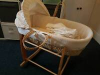 Clair de Lune moses Basket Set
