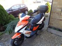 KYMCO SUPPER 8 50 2t 2014 £675 MAIDSTONE