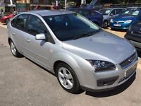 2007/57 FORD FOCUS 1.8 ZETEC CLIMATE,5 DOOR,SILVER,GREAT CONDITION,DRIVES WELL
