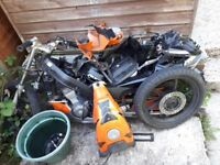 Great runner 11 months mot comes with loads of spares collection only have both log books