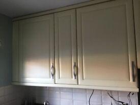 Cream kitchen, black granite for sale