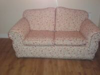2 Matching 2 seater sofas. In very good condition