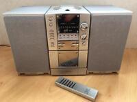 CD/Radio /MP3/Cassette Stereo Mini System