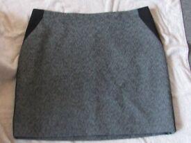 nice grey coloured short skirt