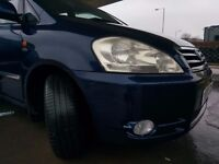 Toyota Avensis verso 7 seater Diesel 2.0 D4D 2001