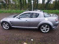 Mazda RX8 2004,231, FSH, 10 months mot no advisories