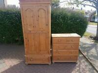 Smart pine wardrobes free delivery