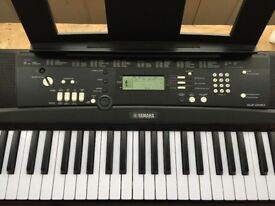 Yamaha EZ-220 electric keyboard. Excellent condition, only used a handful of times.