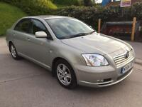 **TOYOTA AVENSIS T3-X 2.0 DIESEL 5 DOOR HATCHBACK (2004 YEAR)IN IMMACULATE CONDITION**