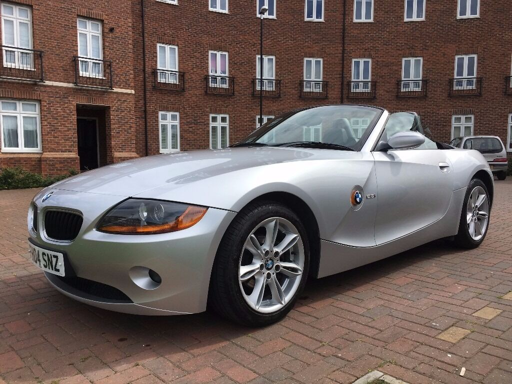 Bmw Z4 2 2i Se Manual Roadster Titanium Silver 2004 In